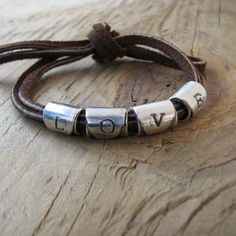 leather and love... #bracelet #handmade #rustic