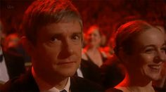 Martin, charming as always! [GIF]