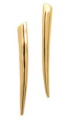 Gorjana Fancy Horn Earrings   How would you style these? http://keep.com/gorjana-fancy-horn-earrings-by-arielle_cabreja/k/2yBe_QABAm/