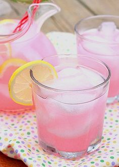 Homemade Pink Lemonade | This is awesome!