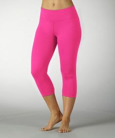 Pink Capri Leggings