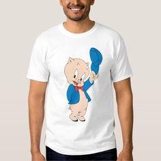 (Porky Pig | Waving Hat T-Shirt) #Animation #Cartoon #CartoonAnimal #CartoonAnimals #CartoonCharacter #CartoonCharacters #Cartoons #LooneyToon #LooneyToonCharacter #LooneyToonCharacters #LooneyToons #LooneyToonsCharacter #LooneyToonsCharacters #LooneyTune #LooneyTuneCharacter #LooneyTuneCharacters #LooneyTunes #LooneyTunesCharacter #LooneyTunesCharacters #Pig #Porky #PorkyPig #Porkypig is available on Famous Characters Store   http://ift.tt/2coXb9U