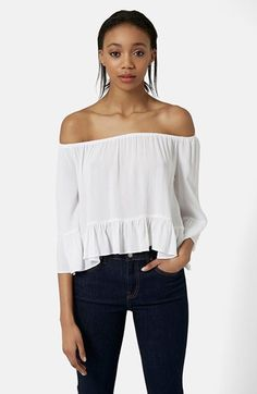 Topshop Off the Shoulder Top | Nordstrom, $52