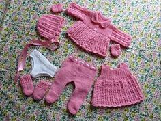 Ravelry: 14 - 16 inch doll clothes pattern by Bellmans Scotch Wool