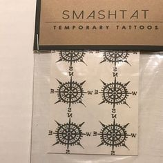 Marye Runnels added a photo of their purchase Inkbox Tattoo, Tattoos, Phobias, Temporary Tattoo, Compass, Sensitive Skin, Etsy, Free, Hand Made