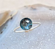 topaz ring wedding ring idea