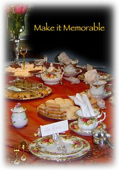 Elegant Tea Party Table Settings   Proud to be British ...