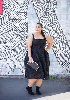 LBD for Spring - Garnerstyle Fat Girl Fashion, High Fashion, Garner Style, Curvy Inspiration, Plus Size Fashion Blog, Hey Girl, Lbd, Nice Dresses, Elegant