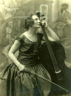 Guihermina Suggia was a Portuguese cellist. She studied in Leipzig under Julius Klengel.  From 1907 to 1913 she lived and worked in Paris with fellow cellist Pau Casals. In 1914  she moved to London . She was a well-known musician, particulary because  a female cello soloist was a rarity back then.