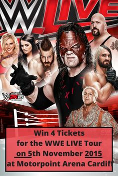 Win 4 Tickets for the WWE Live Tour Ric Flair, The 5th Of November, Cardiff, Goodie Bags, Home And Away, Ticket, Cool Kids, Wwe, Competition