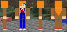My Doctor Who Tenth Doctor Minecraft skin.