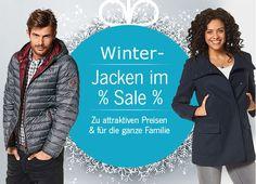 Wir haben für Euch warme #günstige #Winterjacken für die ganze Familie ins Sortiment aufgenommen.