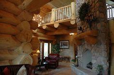hearthstone log homes - Google Search