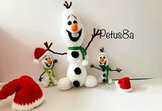 DIY Olaf de Frozen Amigurumi Funny Pillows, Diy Pillows, Olaf Frozen, Knot Pillow, Crochet Amigurumi Free Patterns, Doll Crafts, Doll Clothes Patterns, Diy Tutorial, Christmas Ornaments