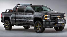 Chevy Silverado Black Ops concept : Survival kit on four wheels | Balcan Expres