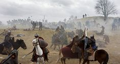 "Early medieval battle in movie ""Arn-The Templar"""