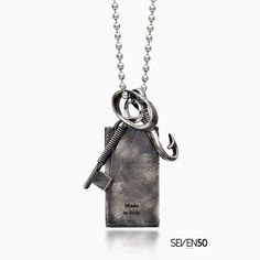 HUNTER NECKLACE    in silver 925 made in Italy Shop it on http://ift.tt/2njMXZM #silver #silver925 #seven50 #seven50jewels #sevenfifty #750 #jewelry #jewels #jewel #fashion #rings #rings #trendy #accessories #love #beautiful #ootd #fashion #style #madeinitaly #italy #accessory #stylish #fashionjewelry #mensjewelry #mensfashion #fashionjewelry #womensfashion #womensjewelry