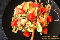 IMPRESJA smaku...: Kurczak z cukinią w sosie śmietanowym