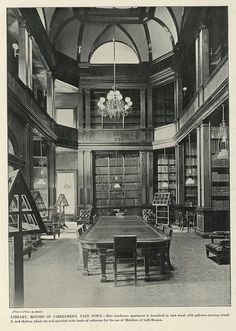 Library, Houses of Parliament, Cape Town | South Africa by The National Archives UK