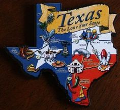 "Texas the ""LONE STAR STATE"""