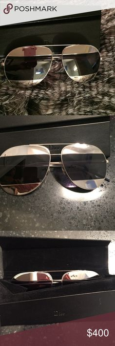 a62b3b125cf9 Dior Split Sunglasses Dior split sunglasses practically new worn once if  that! These are the