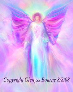 Archangel Raphael Picture Spiritual Angel Art Painting
