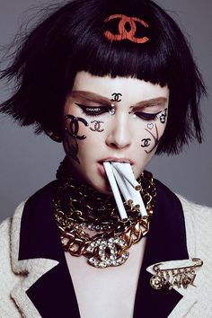 No Tofu Magazine Chanel Exclusive Beauty Editorial Shoot with model Enly Tammela…
