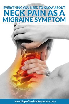 Could neck pain actually be the most common migraine symptom? Let's take a closer look at the significant link between migraines and neck pain. Neck Headache, Severe Headache, Neck Pain Relief, Migraine Relief, Tension Migraine, Tension Headache Relief, Migraine Aura, Migraine Triggers, Chronic Migraines