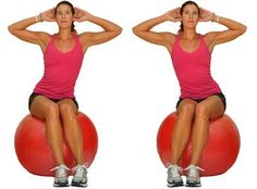 Beginner stability ball exercises