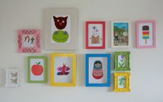 Tales from a happy house.: Children's room DIY decor.