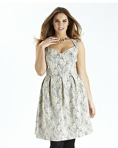 Bonded Lace Prom Dress