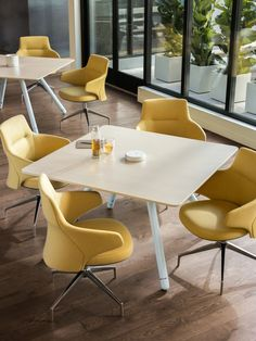 Massaud Conference Seating offers a low and mid-back conference chair that balances luxury and utility. The new seating options are beautifully crafted for comfort in the workplace