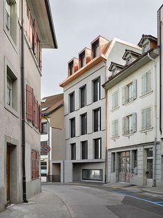 Peace Court and Administration, Payerne Boegli Kramp   Architects BSA SIA SWB