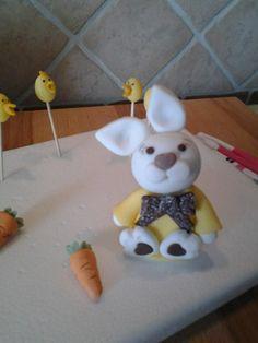 easter bunny fondant