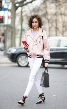 Alanna Arrington From Best Street Style From Paris Fashion Week Fall 2017