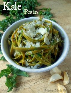 Kale Pesto - For the pizza