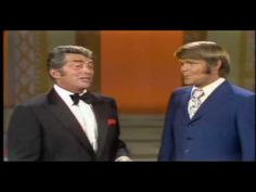 Glen goes swing and matches Dean with tight, note-for-note harmonies. Dig the final line as Glen moves up and down to change the chord!  Dean Martin & Glen Campbell