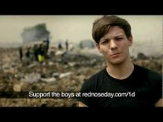 "One Direction's Louis & Niall see what two boys have to do to survive | Red Nose Day 2013 text yes to ""70005"" to help these children plz they need help!!!"