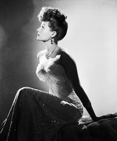 Rita Hayworth in a still for My Gal Sal, 1942 - wow what a gown