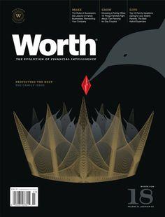 WORTH Magazine #Cover #Design