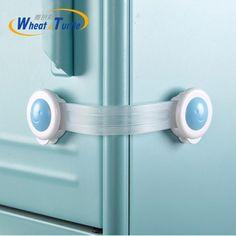 Protector de Dedos Delaman Pinch Guard 2pcs Cerraduras de Gabinete de Seguridad para Beb/és Protector de Manos para Ni/ños