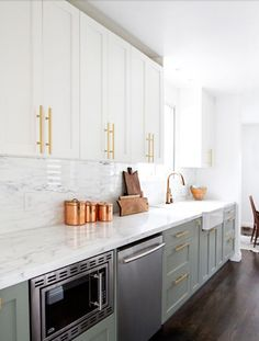 Kitchen Cabinet Knobs Small Portable Island 7 Ideas For Updating An Old I Dream Of Kitchens My Top 10 Brass Hardware Picks Live Like You Marmalade Interiors Grey Cabinetskitchen