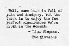 Lisa Simpson quote