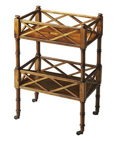Look at this #zulilyfind! Olive Ash Wood Serving Cart #zulilyfinds  Butler Specialty Company $209.99