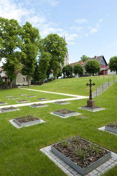 Old Graveyard Leinefelde by Landschaftsarchitektur gmbh 08 « Landscape Architecture Works   Landezine Landscape Architecture Works   Landezine