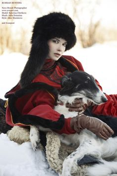 Russian Hunting, Russian girl