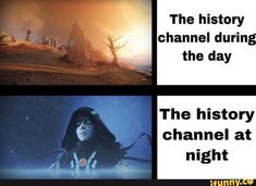 The history channel durin the day , , The history € channel at - iFunny :) Kingdom Hearts Ps4, Geeks, Dankest Memes, Funny Memes, Laughing Face, Destiny Game, Stupid Jokes, History Channel, Mega Man