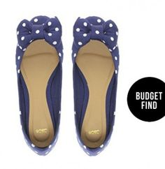 Find the best selection of ASOS LILLE Ballet Flats with Bow In Polka Dot. Shop today with free delivery and returns (Ts&Cs apply) with ASOS! Cute Flats, Cute Shoes, Me Too Shoes, Bow Shoes, Bow Flats, Flat Shoes, Polka Dot Flats, Polka Dots, Ballerina Flats