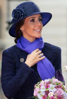 royalhats:  Danish State Opening of Parliament, October 7, 2014-Princess Marie