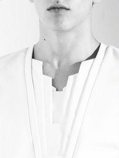 rad hourani - #ArtDeco inspired neck line #WomensFashion